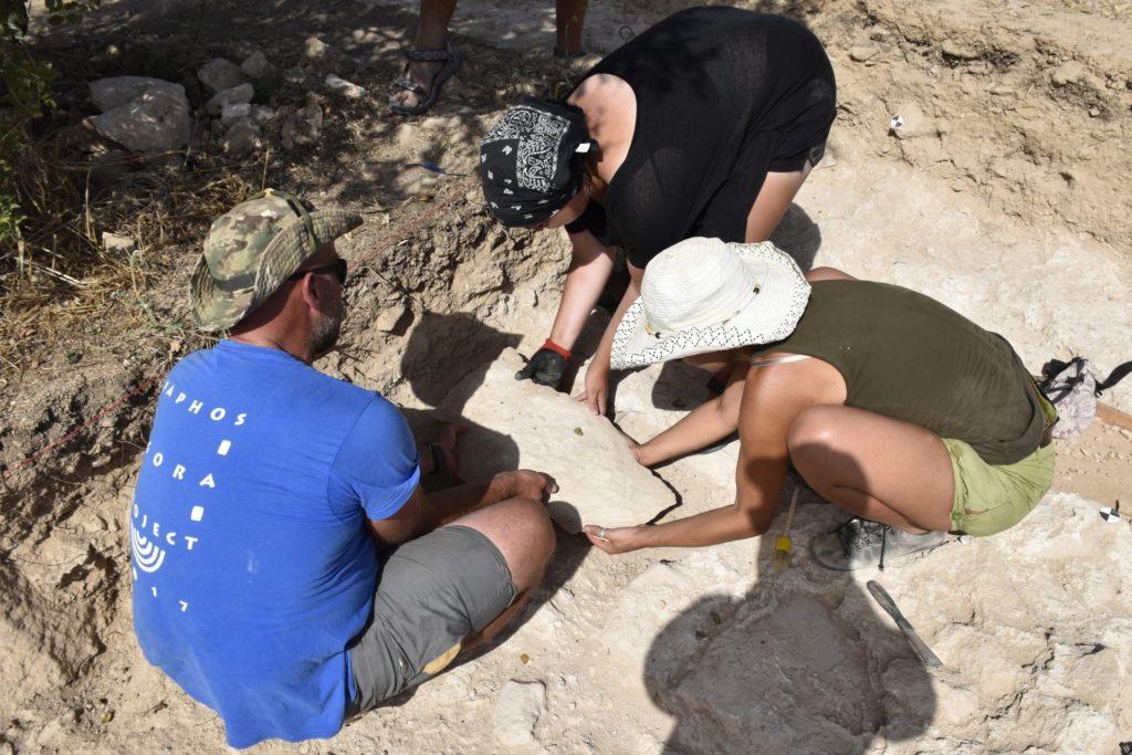 Nea Pafos - prace archeologiczne w roku 2020